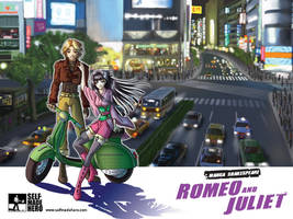 Romeo and Juliet cover art by sonialeong
