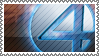 Fantastic four stamp by Amrivetfetv