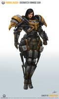 Pharah_Aquila [Overwatch Fan-made Skin] (2016) by Taonavi
