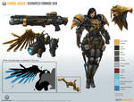 Pharah_Aquila [Overwatch Fan-made Skin] sheet