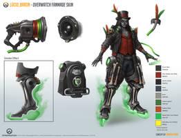 Lucio_Baron [Overwatch Fan-made Skin] (2017) sheet by Taonavi