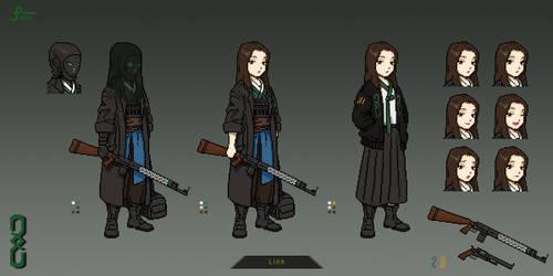 Lisa (2020) Pixel Art Concept