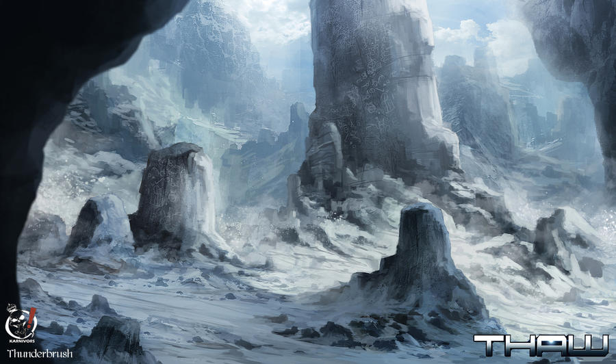 Alien Ruins 01 by Hachiimon