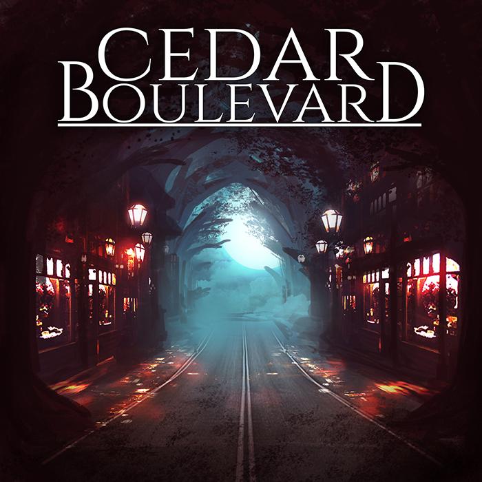 Cedar Boulevard Album Cover by Hachiimon