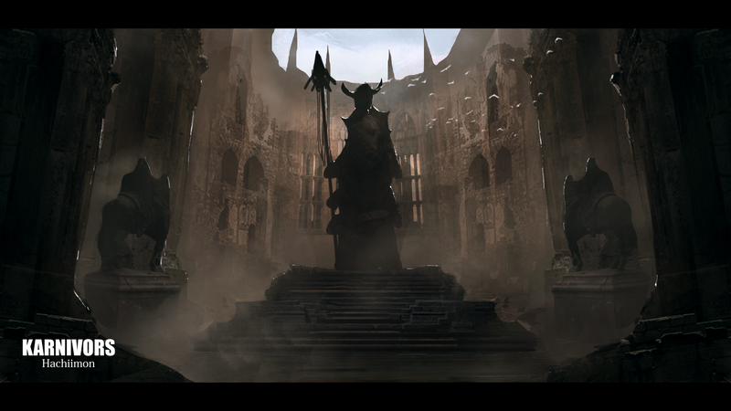 Altar of the fallen god by Hachiimon