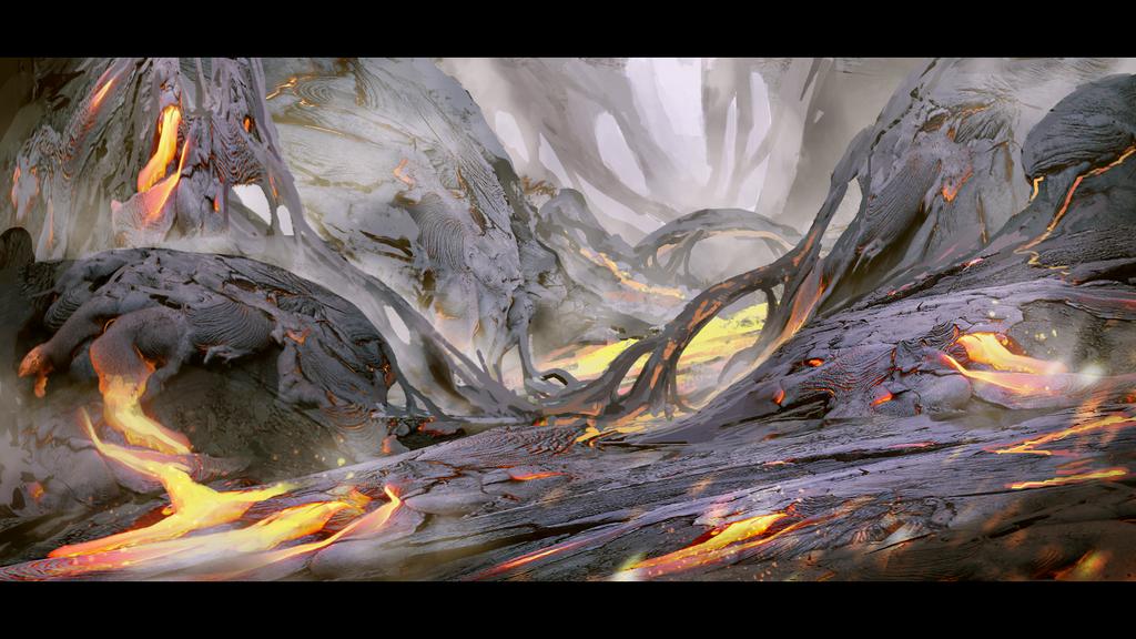 The Molten Earth by Hachiimon