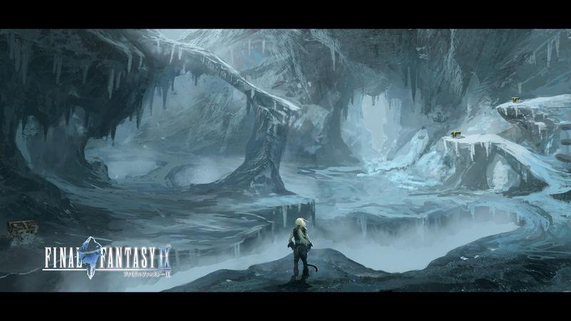 Final Fantasy IX- Ice Cavern Fanart