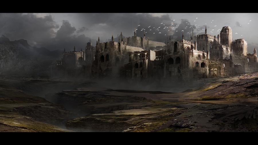 Aulathias Castle by Hachiimon
