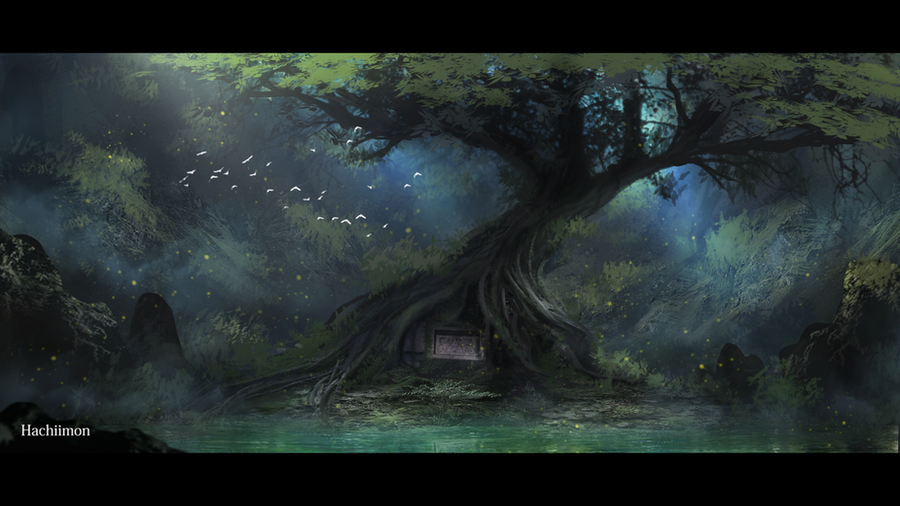 The place where he rests by Hachiimon
