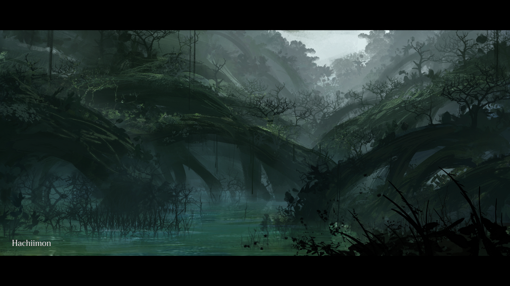 The Swamp by Hachiimon