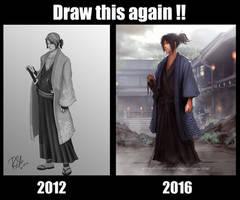 Draw this again meme!! by Hachiimon