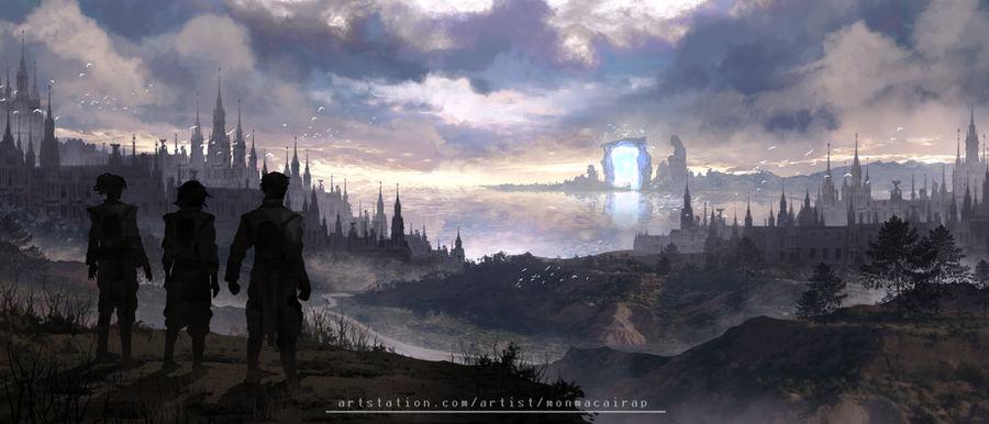 Desolation of a Fallen Society