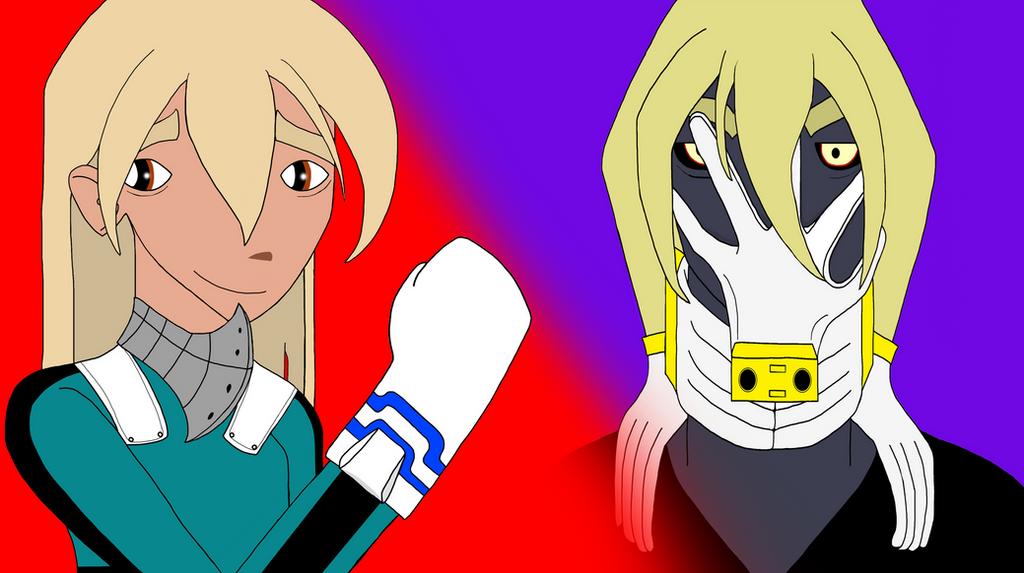 Chester and Kid Rot as Deku and Shigaraki by JokerCarnage5