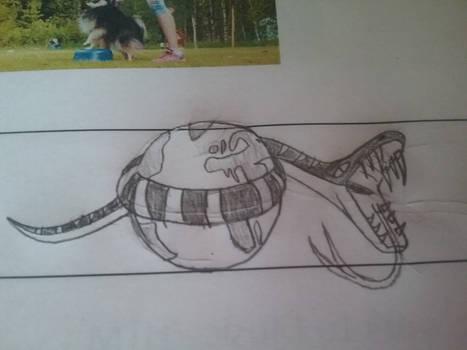 Jormungand doodle