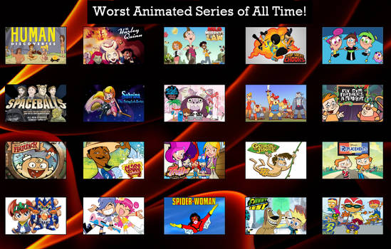 Worst Cartoons Of All Time!