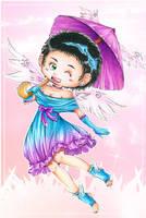my little angel by ka0rie