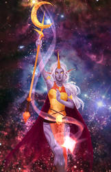 Nebulous Soraka by GraceZhu