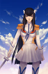 Satsuki Kiryuin by GraceZhu