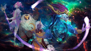 Aurelion Sol - Light in the Night Sky by GraceZhu