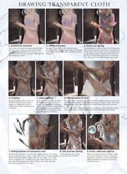 Transparent Cloth Tutorial by GraceZhu