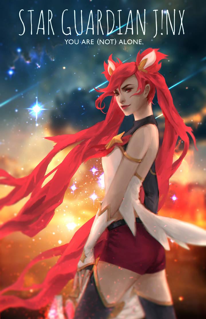 Star Guardian JINX! by GraceZhu