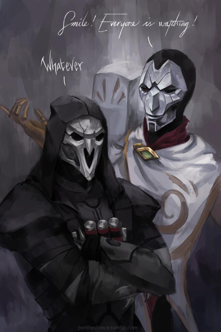 Reaper + Jhin by GraceZhu