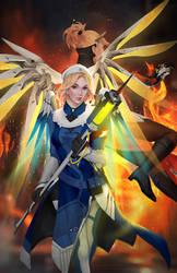 Mercy Uprising vs. Present by GraceZhu