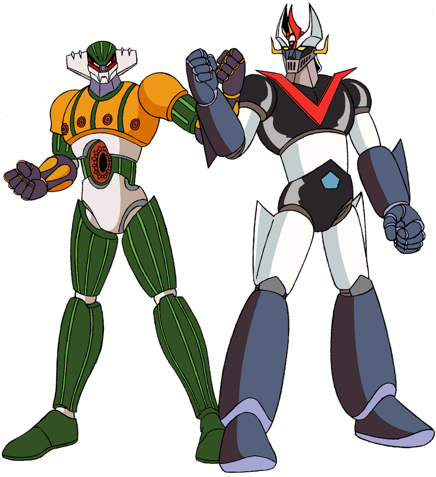 Jeeg robot meet great mazinger by fagian on deviantart