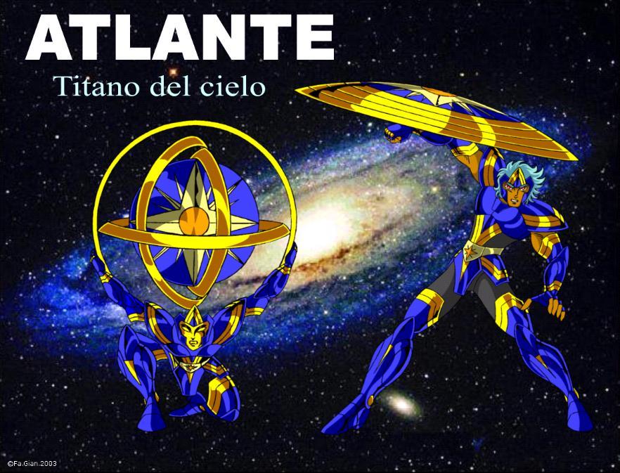 Atlante titano del cielo by FaGian