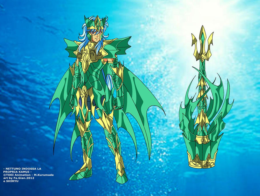 ZC - Poseidon Kamui by FaGian