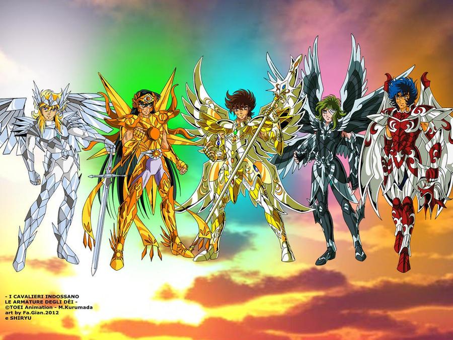 ZC - Bronze saints con le Kamui degli dei by FaGian