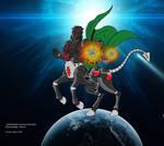 Baron Karza and Doctor Doom