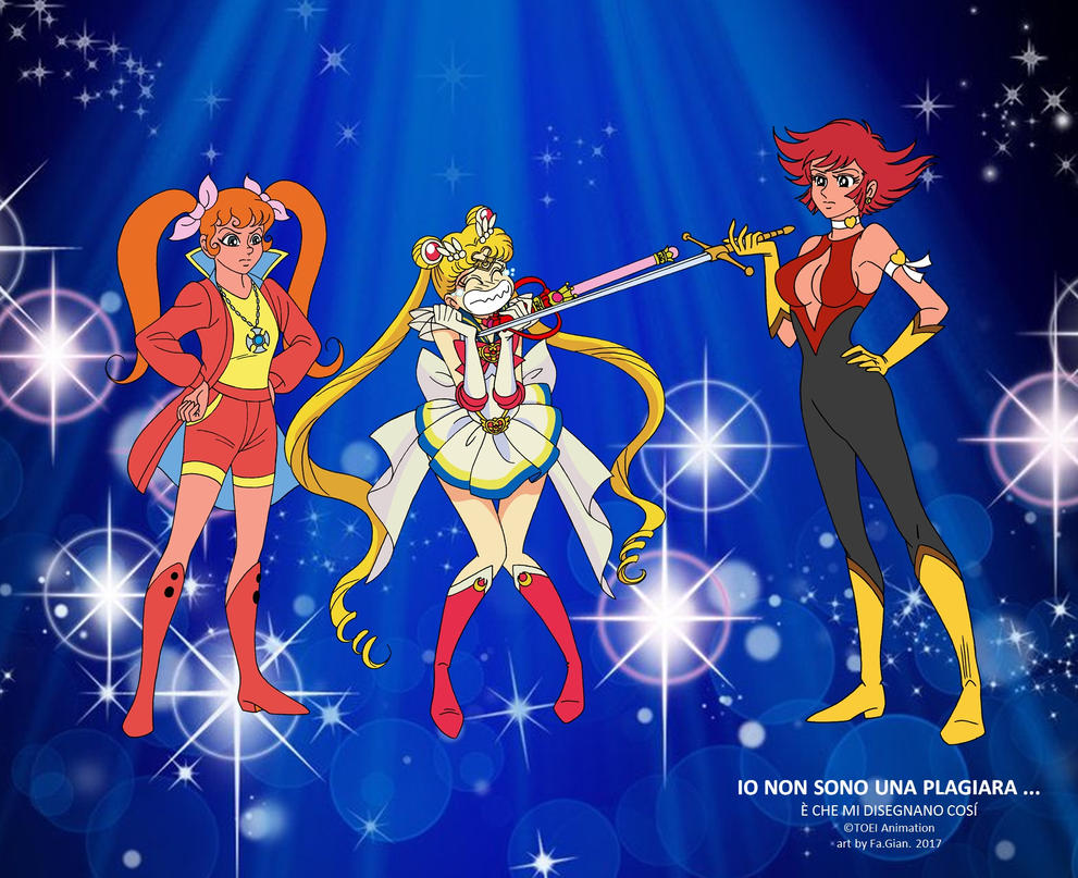 Sailormoon plagiara by FaGian