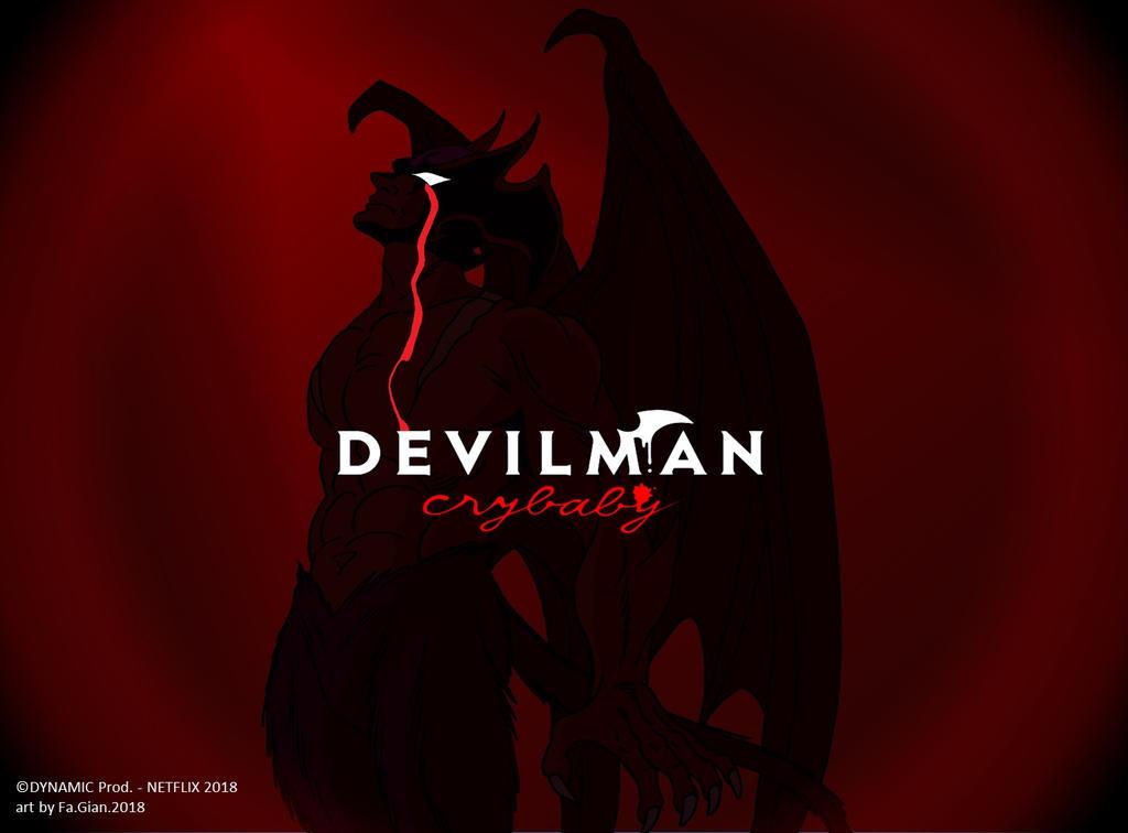 Devilman CRYBABY WP by FaGian