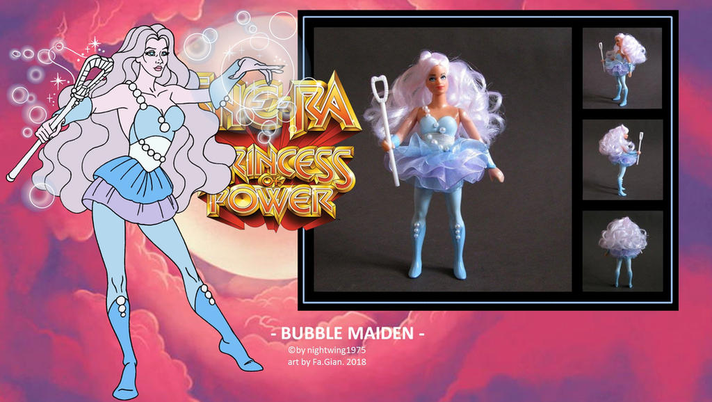 nightwing1975 Bubble Maiden (2) FILMATION by FaGian