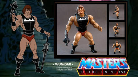 nightwing1975 Wun-Dar FILMATION