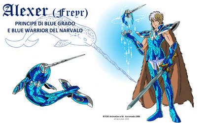 Blue Warrior Alexer (Freyr)