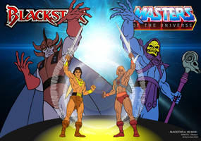 Blackstar meet MotU - Wallpaper