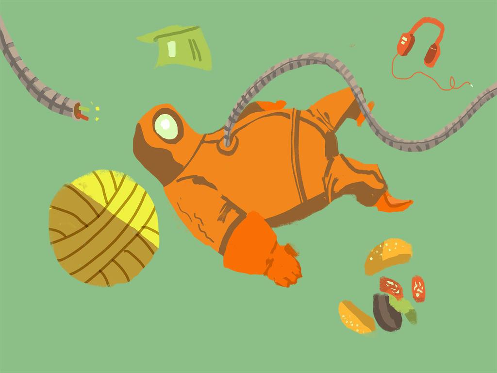 Deep Space Diving by Eeloyloy