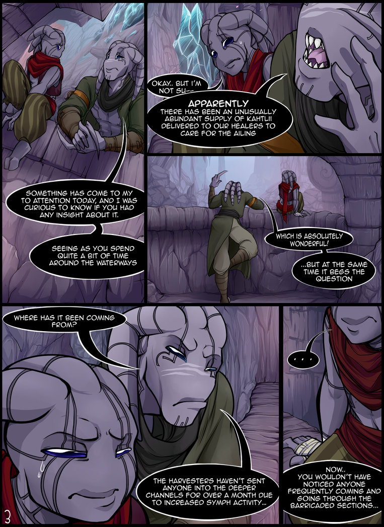 The Scars of Aclahym: Page 3 by Octeapi