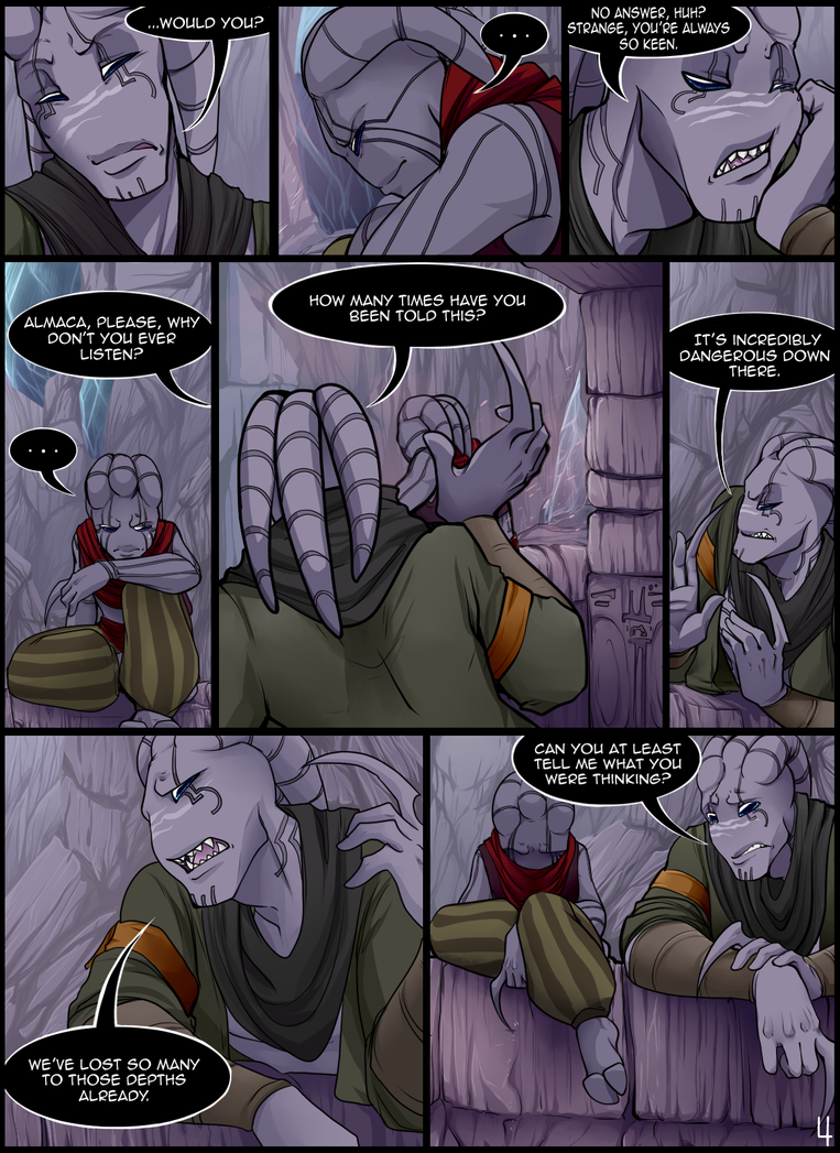 The Scars of Aclahym: Page 4 by Octeapi