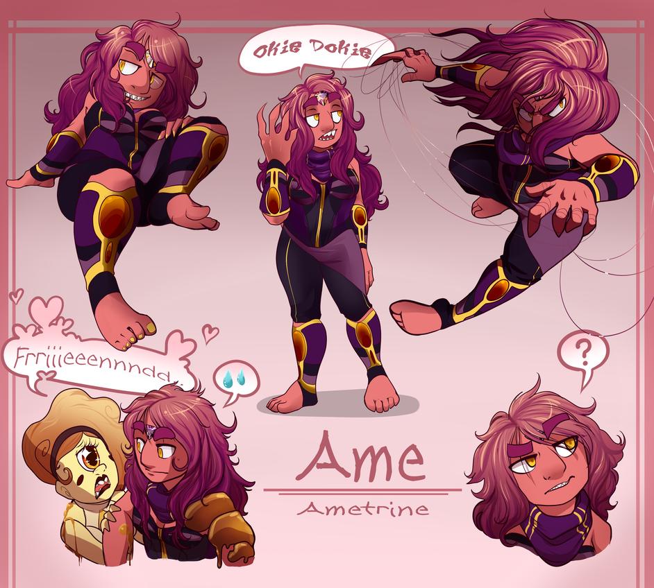 FanGem Redesign: Ametrine by Octeapi