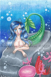 Mermaid by SeraphimFeathers