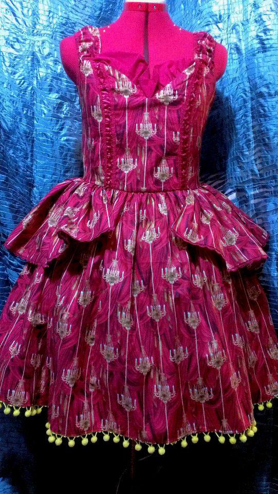 Chandelier Dress