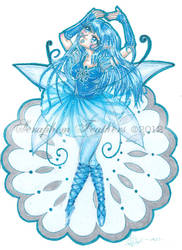 Snow Faerie by SeraphimFeathers