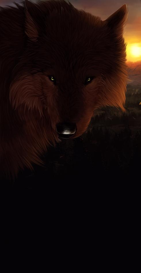 mountain reds [comm] by Sanctuare
