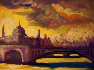 The Seine River, Paris