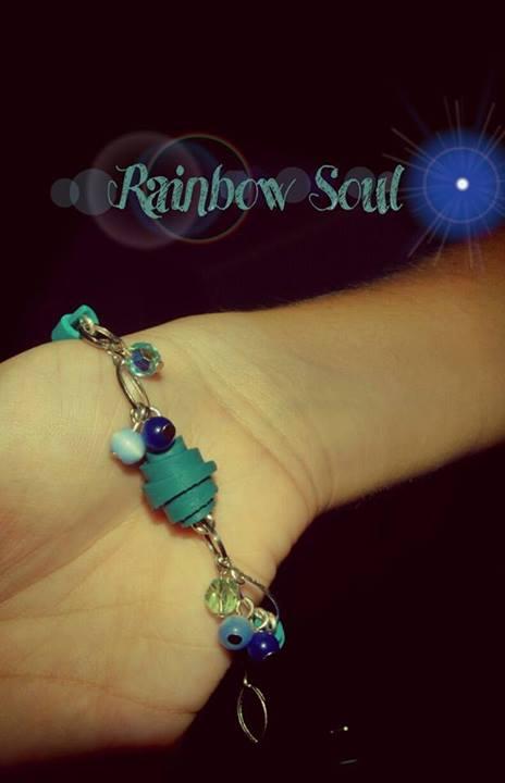 bracciale auroraindossato by rainbowsoulFIMO