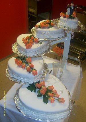 5 tier Chocolate Wedding Cake by LizzyLix on DeviantArt