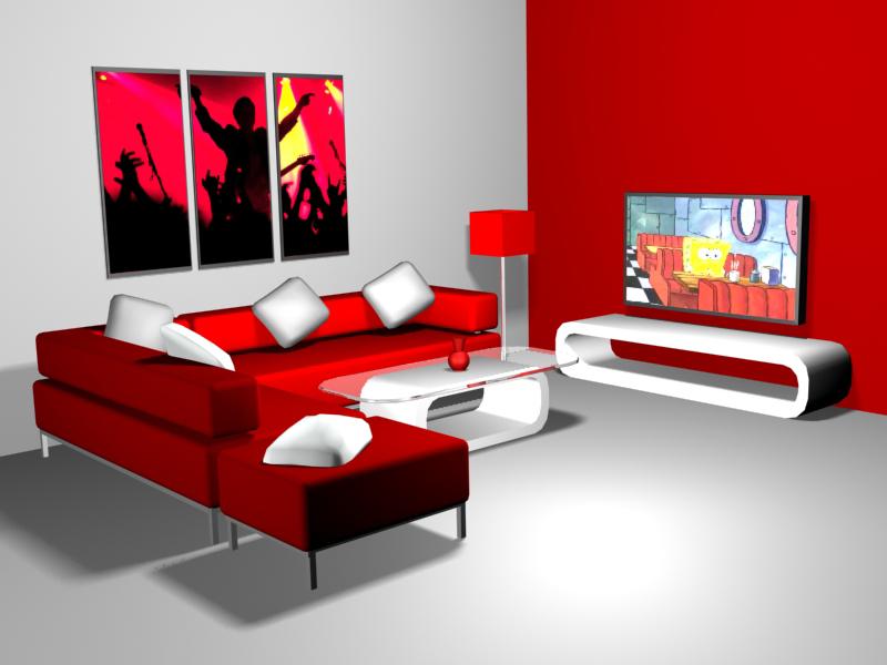 Interior Ruang Tamur Keluarga By Rizqasatyaningpraja